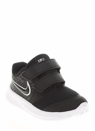 Nike Nike Star Runner 2  Yürüyüş Ayakkabısı Siyah